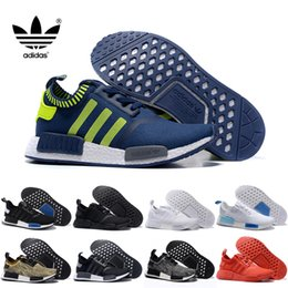 Wholesale 2016 Adidas NMD Runner Primeknit XR1 Caged Black Grey Triple White Men Running Shoes Sneakers Originals Fashion Super Star Sports Shoes