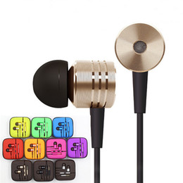 Cell Phone Earphones 3.5mm Headphones Xiaomi Earphone Headphone Headset Universal With Mic Remote Volume Control Noise Cancelling