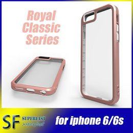 Wholesale For Iphone Cases Bumper Case Two In One Back Cover Case TPU And PC Transparent Back Board Accurate Design With OPP Package