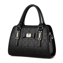 Wholesale Fashion Lady Handbag Colors High Quality PU Leather Handbag Brand Designer Messenger Bag Women OL Totes