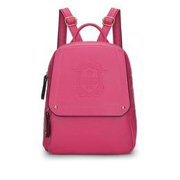 2016 New Casual Women Backpack Female PU Leather Women's Backpacks Sport Travel Bag backpack fashion backpack Free Shipping