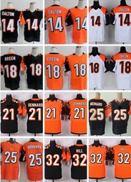 Wholesale Bengals Jeremy Andy Dalton black A J Green Giovani Bernard Darqueze Dennard Men Football Jerseys Accept Mix Order