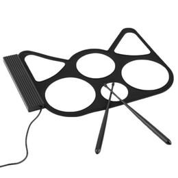 Batterie électronique pad ensemble à vendre-Bureau Rouleau électronique Up Wholesale-Portable USB PC Drum Pad Kit Set Baguettes Pédale Vente retial gros livraison gratuite