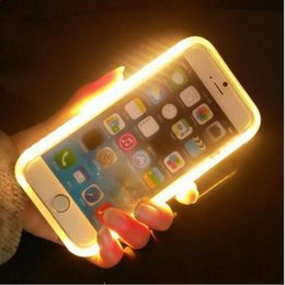 Wholesale Add to iPhone S SE5S and iphone7 plus Samsung Galaxy S6 S7 high quality LED lights flash lighting from mobile phone sets