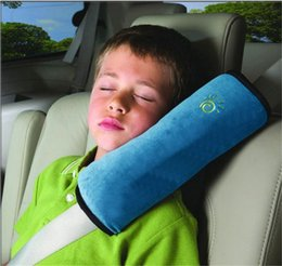 Wholesale New Brand Children Car Safety Belt Kids Seatbelt Strap Cover Harness Shoulder Pad Pillow Cushion Auto Interior Accessoies MultiColor