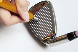 Four Color Golf Club Groove Sharpener Improved Backspin and Ball Control - Wedges and Irons Free shipping