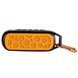 2017 boîte de haut-parleur de radio Etanche Bluetooth Distance 10 m Haut-parleur stéréo Shock Resistant Wireless Audio Player Radio Sound Subwoofer Box anti-poussière 18 $ no Trackin boîte de haut-parleur de radio offres