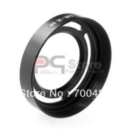 Wholesale LH X10 Lens Hood mm Diameter Metal Adapter Ring For Fujifilm FinePix X10 Camera Lens Hood