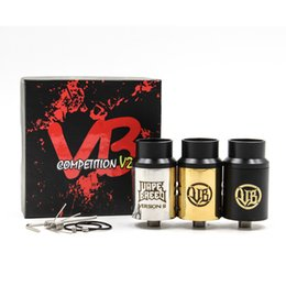 Wholesale Vapebreed Comp V2 RDA By Vapebreed Clone Vapebreed V2 RDA Vape Breed Competition Atty Vapebreed Vapebreed Atty V2 RDA Dripper