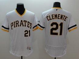 Wholesale 2016 white throwback MLB Pittsburgh Pirates jerseys Clemente Mccutchen Cole Melancon Burnett Bonds MLB Baseball Jerseys