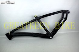 27.5-inch Bike raw Frame Traces of Carbon Fiber Bike Frame Road Bike Mtb Bike Cycling Frame
