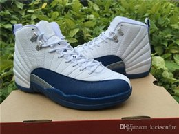 Wholesale Air Jordan French Blue and Taxi Playoffs Retro s Men s Jordans Basketball Shoes high quality