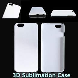 DIY 3D Sublimation Case Full Area Heat Printed White Glossy Smooth Cover For Iphone 5S 6 6S Plus Samsung S6 S7 Edge Note 5 TOP Quality
