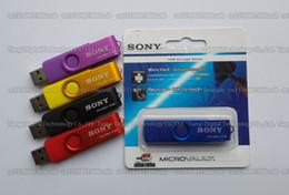 Disque flash haute vitesse en Ligne-16 Go / 32 Go / 64 Go / 128 Go / 256 Go SONY USB2.0 OTG USB Flash Drive / Mobile Phone OTG Pendrive / U disque haute vitesse disque de mémoire OTG