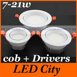 Wholesale Hot sale w w w w w cob led dimmable recessed led downlight lamp for home warm cold white V beam angle CE