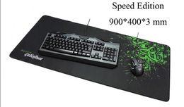 Wholesale Large Size Razer Goliathus Control Speed Mouse Pad Mat large Gaming Edition locking edge