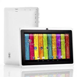 Wholesale - FreeShip 7 inch Q88 Tablet pc Dual camera Android 4.2 A23 Android 4.2 7 Inch Tablet PC Dual Core CPU, Camera, 4GB