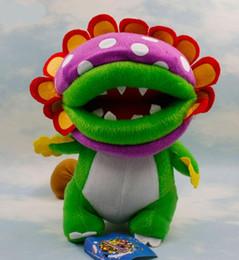 EMS Super Mario Brothers Dino Piranha Plush doll toys 8inch plush children new Brothers Bowser JR soft Plush 20CM toy B