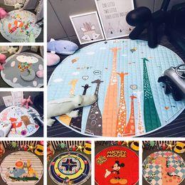 2017 stockage pour les jouets bébé tapis de jeu 150 * 150cm tapis de jeu sac de rangement de jouets sac portable de stockage de jouets Blanket Boxes Tapis Jouets Organizer 394 budget stockage pour les jouets