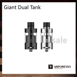 Wholesale Vaporesso Giant Dual Tank with RTA Deck ml Avoids leakage and overfill Atomizer With CCELL Triple Head Coil Original