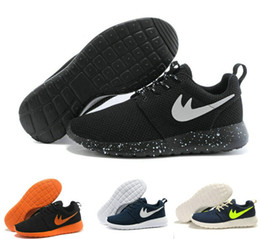 Wholesale 2016 Factory stock sale Roshe Run Shoes Men and Women Running Shoes Fashion Vintage Athletic Casual Sports Shoes Boys Mesh Free Run Sneakers