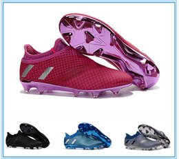 Wholesale New Messi Pureagility FG AG Soccer Cleats Mens Football Soccer Shoes For Cheap Football Soccer Boots Football Boots Sale