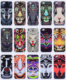 free shipping leather cell phone Case Coloured drawing for IPhone SAMSUNG S7 s7 edge