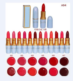 Wholesale 24 Hot NEW New Makeup Lowest Best Selling good sale Newest Products Lips Cinderella Lustre Lipstick g