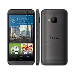 original HTC M9 5.0 inch Quad-core smart phone 3G RAM 32G ROM 4G LTE Unlocked Android Phone Refurbished free shipping