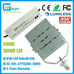 Wholesale High power w led retrofit kit lm e39 e40 w metal halide equivalent basketball court lighting retrofit kits