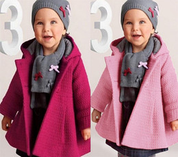 Baby Girl Toddler Coats girls' Overcoat Warm Wool Blend Coat Snowsuit Jacket Kids' Dresses Hoodies Christmas Hooded Loose Outerwear Clothes
