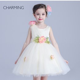 Wholesale Flower girls buy from china girls flower girl dresses best selling products online high quality china made back to school season