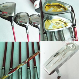 Wholesale New womens Golf clubs HONMA S Complete Clubs set Golf driver fairways wood irons putter Graphite golf shaft and headcover