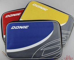 Wholesale BEST Donic table tennis ball square sets single tier set ball set three color racket bag box cover