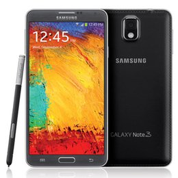 Refurbished Samsung Galaxy Note 3 Note3 N900A N900T N900P N9005 5.7Inch Quad Core RAM 3GB ROM 32GB 4G-LTE Unlocked Cell Phones