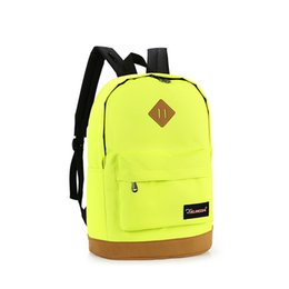 Wholesale uggage Bags Backpacks New top brand cloth school bags for teenagers pop quiz bagpack men mochilas sale spanish oxford women s ba