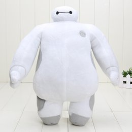 Wholesale 15inch cm Super Marines Big Hero Baymax Robot Stuffed Plush Animals Toys Christmas Gifts Baby Toy