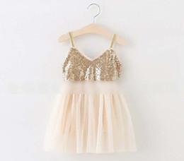 Sequin Girls Dresses 2016 Summer Korean Lace Princess Dresses for Kids Fashion Children Tull Tutu Dress Girl Clothes 6199