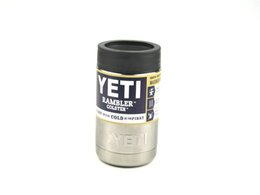 Wholesale 12 oz Yeti Vacuum Insulated Rambler Colster Insulated Cup Mug Drink Holder Insulated Koozie Stainless Steel AAAA QUALITY