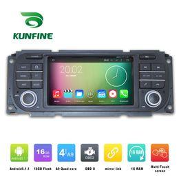 2017 consola gris Quad Core 1024 * 600 Android 5.1.1 Car DVD GPS Navegación GPS Player estéreo sin deck para Jeep Wrangler 2003-2006 Radio 3G Wifi Bluetooth KF-V2263Q consola gris en venta