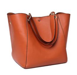 Handbag litchi pattern large capacity USA style women handbag fashion totes soft leather high quality purse women bag