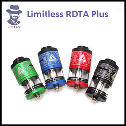 Wholesale Authentic iJoy Limitless RDTA Plus Atomizer ml Tank Upgraded Post Deck Hybrid Compatible Delrin Chuff Cap