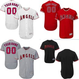 Wholesale cheap Men s Custom Los Angeles Angels of Anaheim Baseball Jersey Flexbase Collection For Sale stitched size S XL