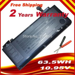 Wholesale Battery A1322 For APPLE MacBook Pro quot Unibody A1278 MC700 MC374 Mid Gift screwdrivers