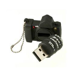 Mini Silicone Camera Model Model USB 2.0 Flash Drive XMAS Gift 64GB 16GB 32GB Pen U Stick Memory Full Capacity For PC 64GB 128GB 256GB