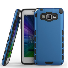 Wholesale Hybrid in rugged rubber combo heavy duty bear anti shock cover case skin for Samsung Galaxy Grand Prime G530