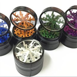 Wholesale High quality aluminum alloy mm part lightning tobacco crusher grass crusher