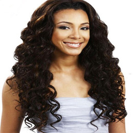 6A High Quality Glueless Silk Top Full Lace Wigs With Natural Hairline Silk Top Lace Front Wig Curly Natural Hair Free Ship