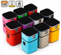 Wholesale universal worldwide travel adapter with usb charger portable all in one world travel AC power plug