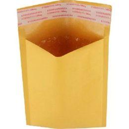 Burbuja de papel kraft en Línea-270mmx145mm / 260mmx185mm / 220mmx120mm destructivo abierto auto-sellante poli burbuja Kraft papel envoltorio maletín bolsas